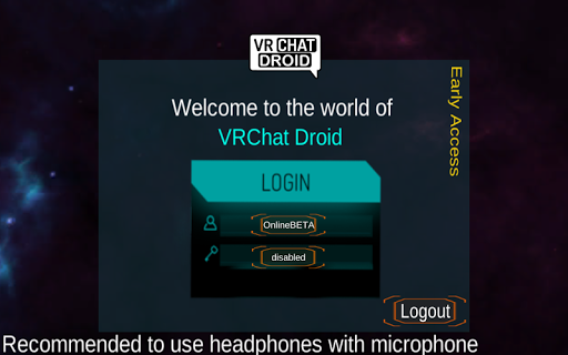 VRChat Droid for PC