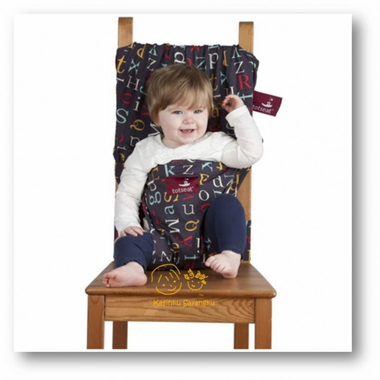 Totseat Alphabet Washable and Squashable Highchair by GREEN WHEEL INTERNATIONAL SDN BHD