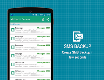 Super Backup - SMS,Contacts,Apps,Settings & More- screenshot thumbnail