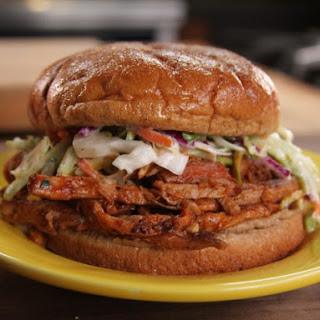 Bobby's Sweet and Spicy Pork and Slaw Sandwich