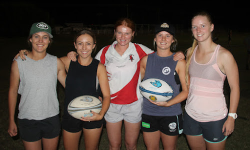 Local rugby players Brooke Field, Abby McClure, Chelsea Hancock, Emma John and Lauren Nott were all recently selected into the Central North Rugby Union 25-woman squad.