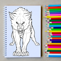 How to Draw a Wolf Step by Step icon