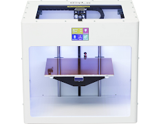 CLEARANCE - CraftBot PLUS 3D Printer Fully Assembled - White