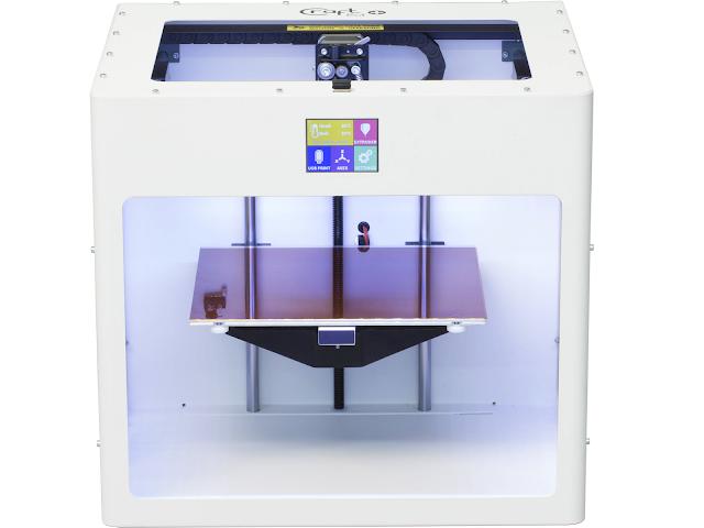 CraftBot PLUS 3D Printer Fully Assembled - White