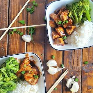 Simple Healthy Teriyaki Chicken Bowls.