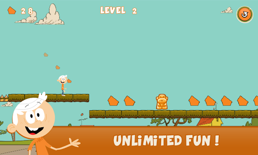 Lincoln Loud Adventure screenshot