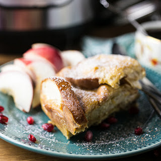Eggnog French Toast…in the Slow Cooker