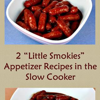 Slow Cooker Little Smokies Appetizer Recipe(s)