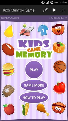 Kids Memory Game