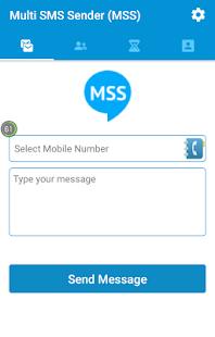 Multi SMS Sender (MSS) - náhled