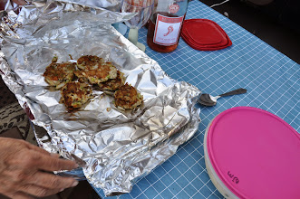 Photo: Crab cakes from Oregon crab