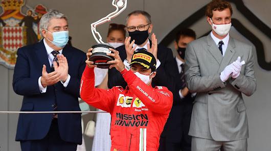 Merecidisimo segundo puesto para Sainz en  Monaco