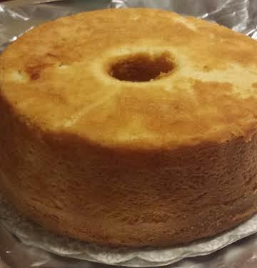 Glazed Apricot Pound Cake