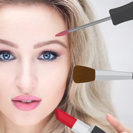 Editor de fotos de maquiagem - Camera de beleza