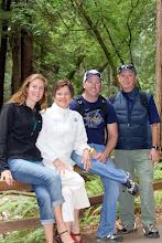 Photo: Lydia, Joyce, Jeff, and Jerry Muir Woods