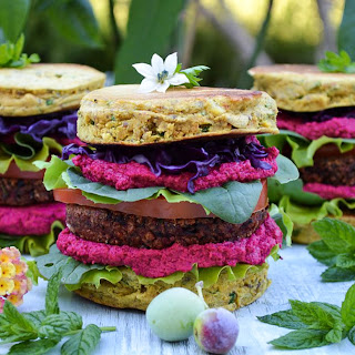 Chickpea Flour Burgers Recipes.