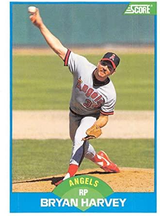 Angels Pitcher Bryan Harvey