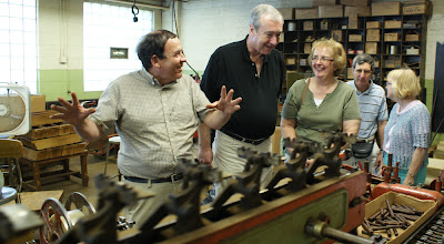 Photo: Avanti Cigar Co. tour with Dominic Keating (photo Chris Balton)