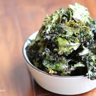 Oven Baked Lemon Kale Chips