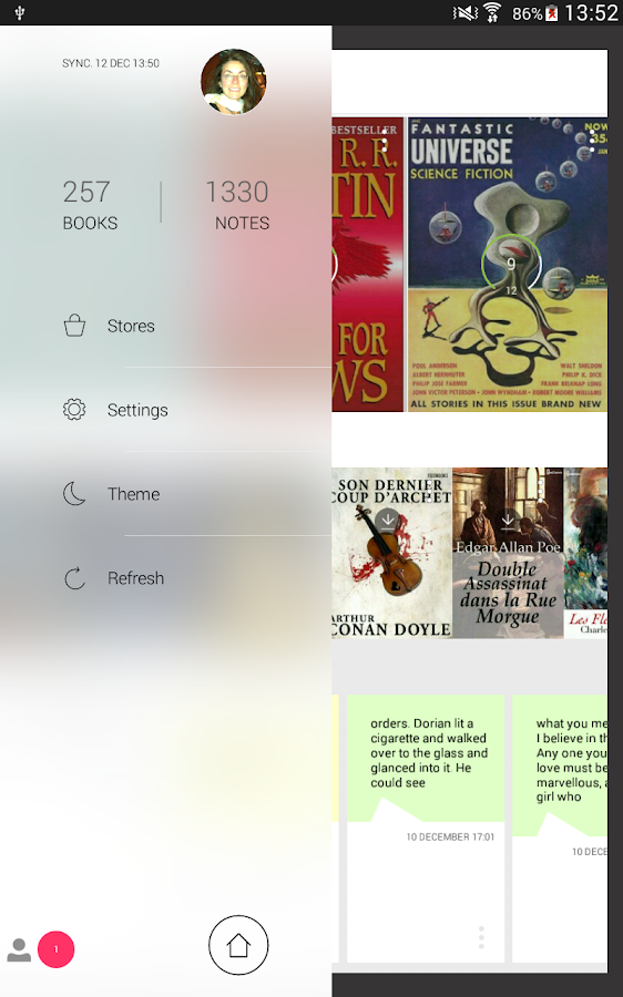 Bookari Ebook Reader Premium- screenshot