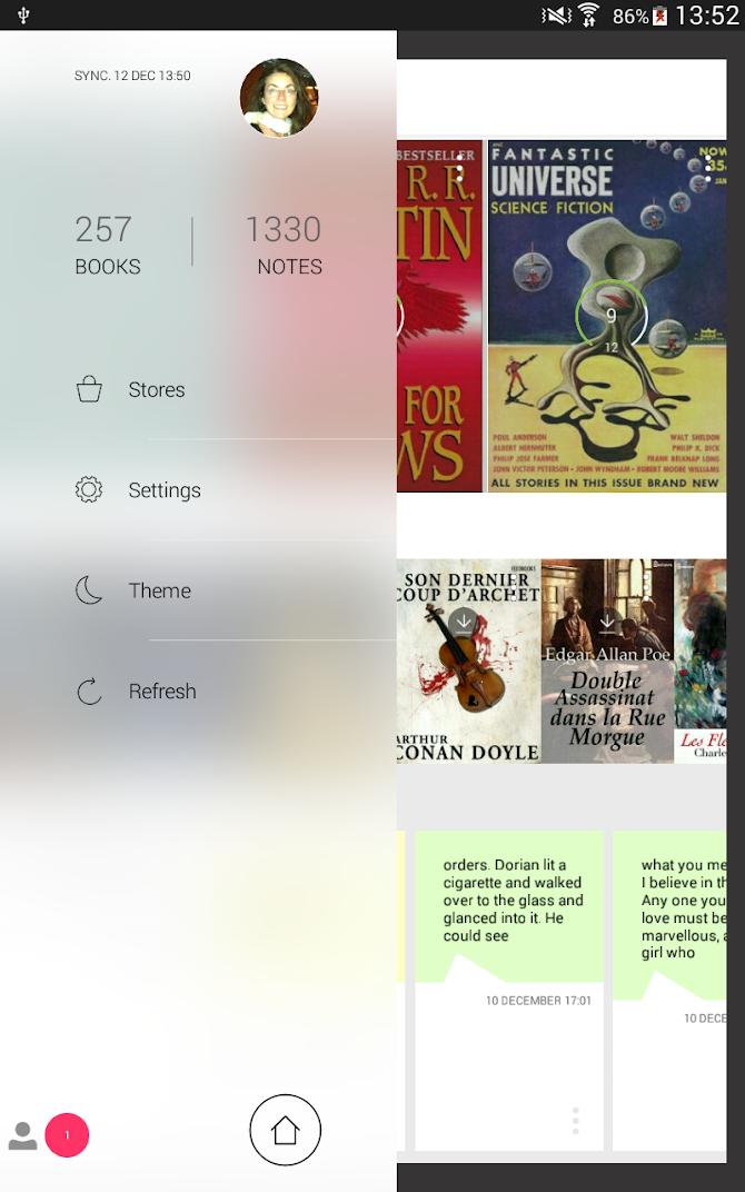 Bookari Ebook Reader Premium Android 17