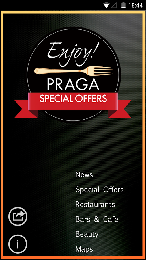 Enjoy! Prague-Restaurants-Bars- screenshot