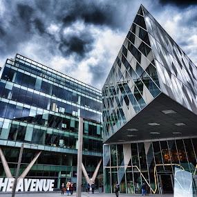 The Avenue, Manchester by Dimitri Foucault - Buildings & Architecture Office Buildings & Hotels ( building, hdr, avenue, the, manchester )