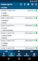 Screenshot of Primeira Liga Pro