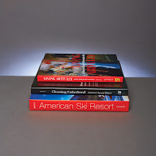 Photo: COFFEE TABLE BOOKS  Living Artfully: At Home with Marjorie Merriweather Post by Estella M.Chung '99 AM (D. Giles)  Choosing Fatherhood by Lewis Kostiner '72 (George F. Thompson)  American Ski Resort: Architecture, Style, Experience by Margaret Supplee Smith '76 PhD (University of Oklahoma)