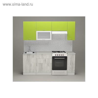 Кухонный гарнитур Илона ультра, 2000 мм