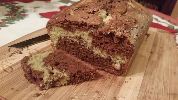 Chocolate Matcha Tea Bread Recipe