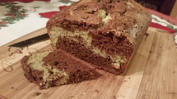 Chocolate Matcha Tea Bread