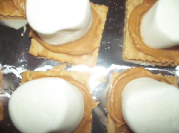 Spread peanut butter on as many saltine crackers (or Ritz) as you like (I...