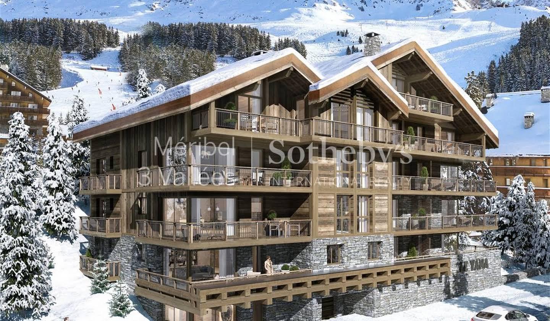 Apartment with terrace Méribel-les-Allues
