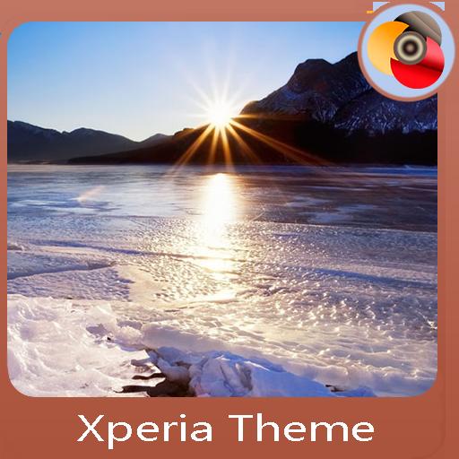 ice melts | Xperia™ Theme