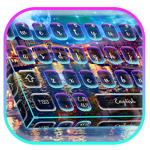 Venice Night Moon Keyboard Theme Android APK Download Free By Cool HD Themes & Live Wallpapers