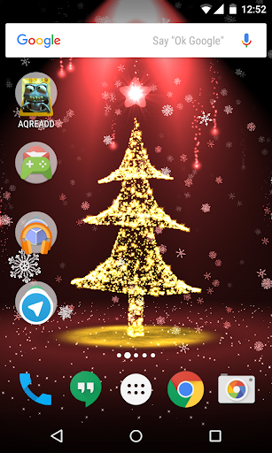 christmas live wallpaper 3d hd for android