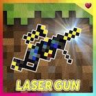 Laser gun mod for Minecraft icon