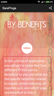 Saral Yoga- screenshot thumbnail
