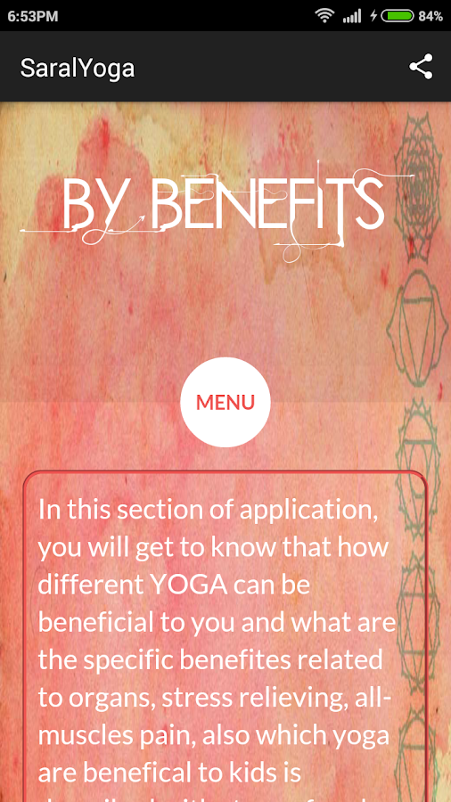 Saral Yoga- screenshot