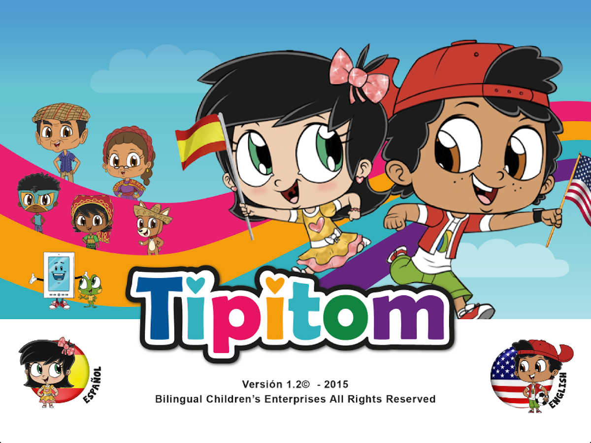 Tipi Tom™ Spanish/English PreK- screenshot