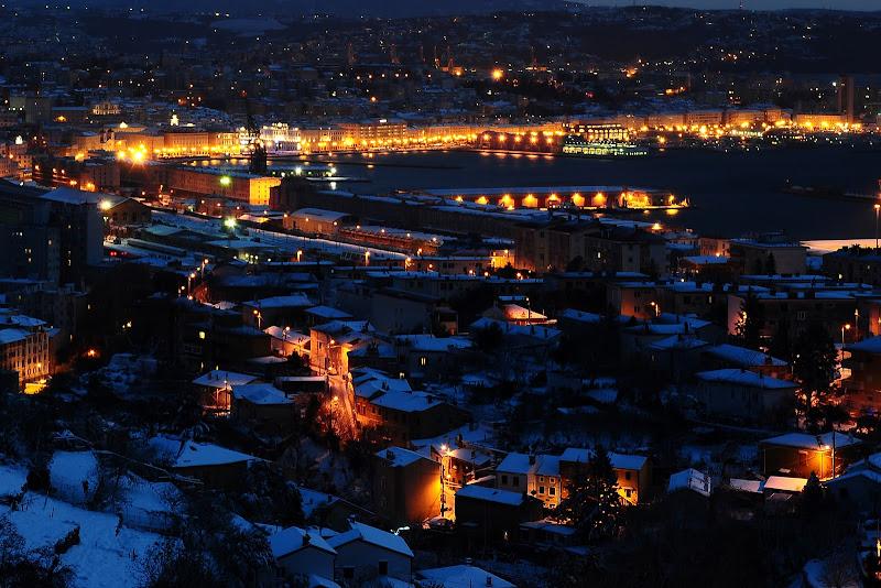 La prima nevicata in città di mcris