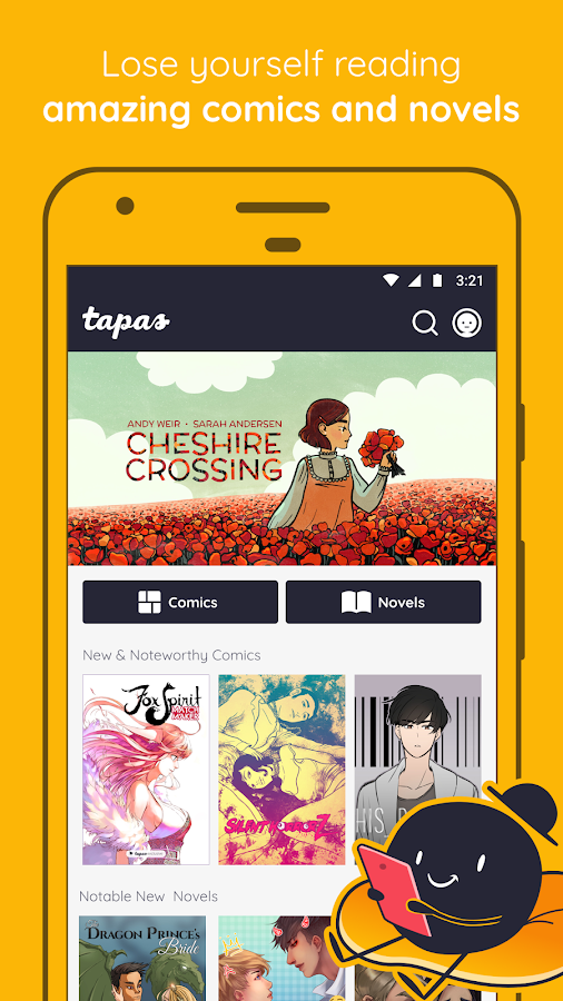 Tapas – Comics, Novels, and Stories- screenshot