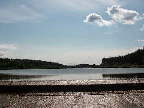 Photo: widok na Ostrowy nad Okszą