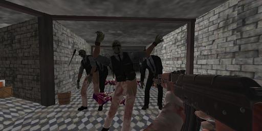 Code Triche Chasseur zombie: Les jeux de survie zombie gratuit APK MOD screenshots 1