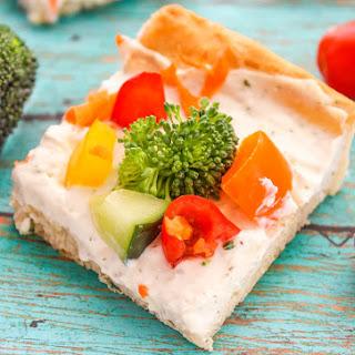 Veggie Pizza Crescent Bites.