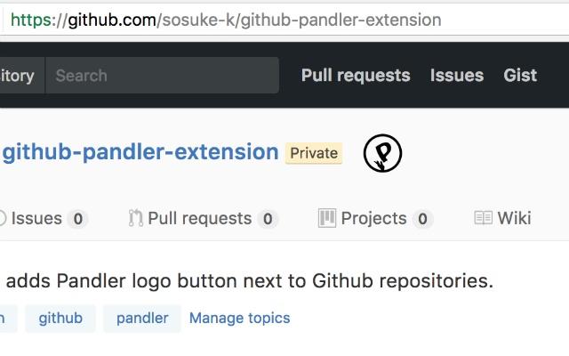 Github Pandler Extension