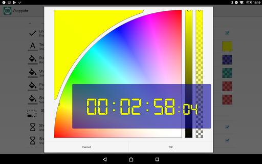 Floating Stopwatch, free multitasking timer 3.2.7 screenshots 4