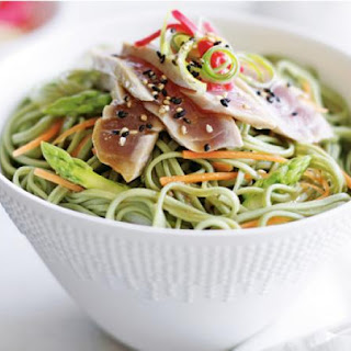 Tuna With Green Tea Noodle Salad