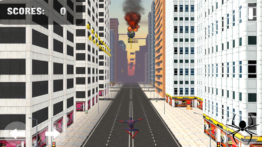 android Spider Hero Jump And Fly Screenshot 2